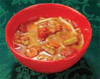 Romy 6 - sopa a base de caldo