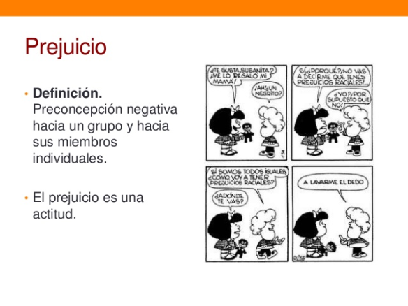 Prejuicios Mafalda