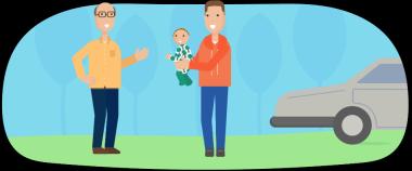 Men parenting