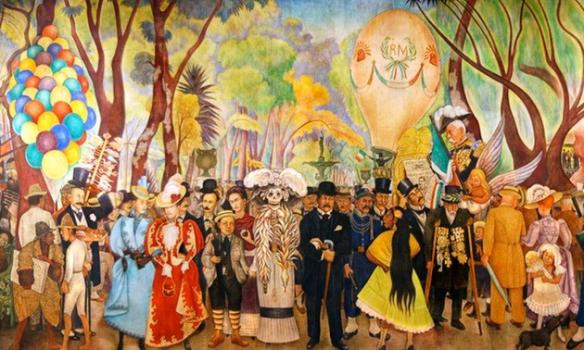 Diego Rivera-Catrina
