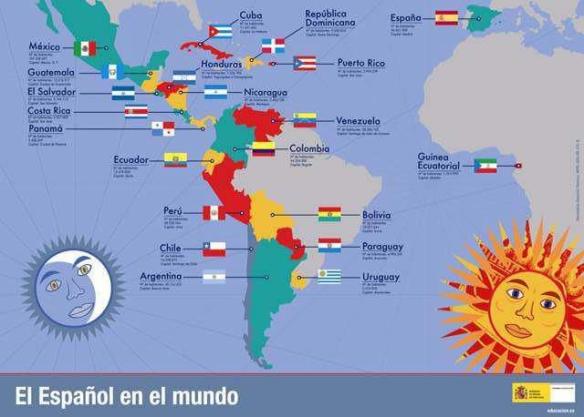 Mundo de habla hispana