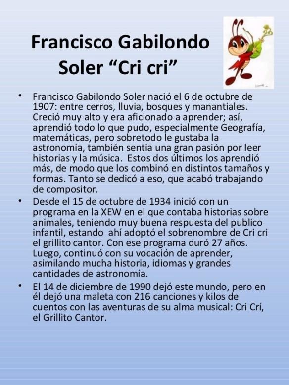 Francisco Gabilondo Soler-bio