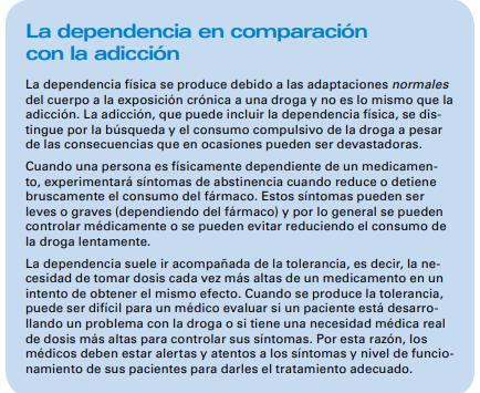 la dependencia