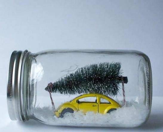 car in jar